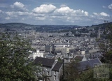 View from Beechen Cliff of Broad Quay, Bath c.1964