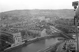 360 degree view of Bath from a Stothert and Pitt crane, 16 February 1971