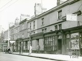 Shops in Ladymead, Walcot Street, Bath c.1925
