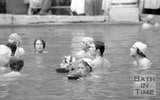 Filming The Bawdy Adventures of Tom Jones at the Roman Baths, Bath, 10 May 1976