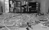 Bath City Architect Roy Worskett and the Bath City Model, 11 December 1974