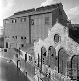 The old electricity works, riverside, Bath, c.1965
