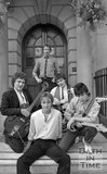Bath pop group Graduate before a gig at Nero's, George Street, Bath, 4 September 1979