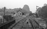 The abandoned Midsomer Norton railway station after closure, c.1967