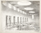 Interior view of the Tepid Plunging and Swimming Bath, Bath 1843