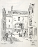 Trim Bridge and Trim Street, Bath c.1890-1920