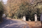 The entrance to Midford Castle from Midford Road c.1965