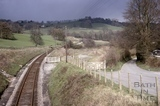 View of Midford Goods Yard, below Midford Castle 1966