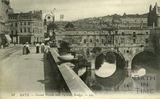 Grand Parade and Pulteney Bridge, Bath c.1905