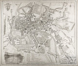 A New and Correct Plan of the City of Bath from a recent survey 1825