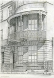 Verandah, Sion Hill Place, Bath 1939