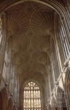 Fan vaulted ceiling, Bath Abbey , Bath