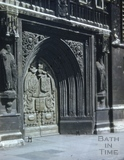 West door, Bath Abbey, Bath 1954