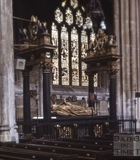 Memorials, Bath Abbey, Bath c.1963