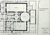 Assembly Rooms plan, Bath