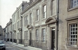 North side, Beauford Square, Bath 1982