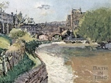 Pulteney Bridge, Bath by Walter Sickert