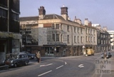Ambury and Corn Street, Bath 1969
