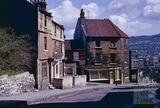 The Young Fox, Holloway on the corner with Old Orchard, Bath 1963