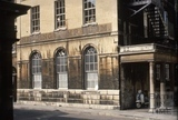 Hetling Pump Room from Hot Bath Street, Bath 1969