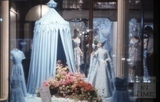 Jollys Milsom Street blue window display 1965