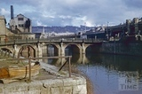 The Old Bridge, Bath 1956
