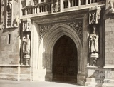 The West Door, Bath Abbey 1961