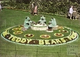 Floral display, Parade Gardens, Bath c.1960