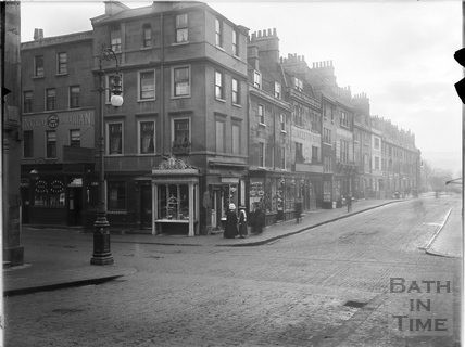 Charles Street and Kingsmead Street, Bath c.1903