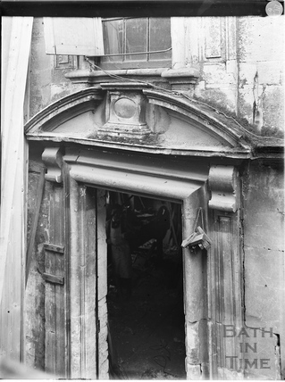 Doorway, Cold Bath House, 26, Claverton Street, Widcombe, Bath c.1903