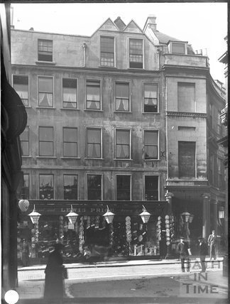 Lewis Price, drapers, 35 & 36, Stall Street, Bath c.1903