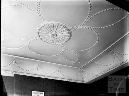 Ceiling, Terrace Walk, Bath c.1903