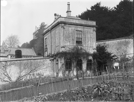 Gardens and lodge, Widcombe Manor, Bath c.1903