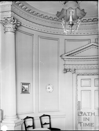 Interior, 41, Gay Street, Bath c.1903