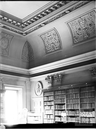 Library, Prior Park, Bath c.1903