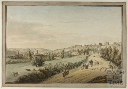 The City of Bath taken from the London Road 1773
