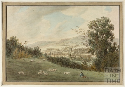 South view of Bath 1773