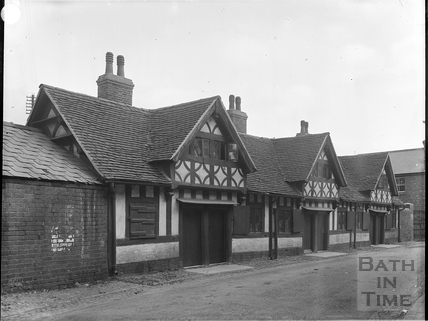 Aubrey's Almshouses, Berrington Street, Hereford c.1903