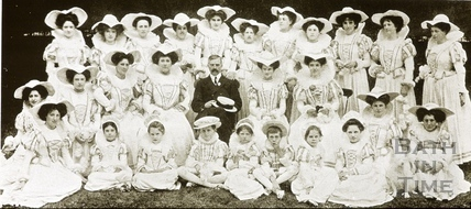 Bath Historical Pageant. Episode 5. Fair Maids of Somerset July 1909