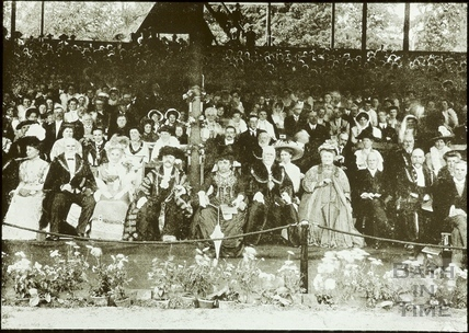 Bath Historical Pageant. Visit of Lord Mayor of London July 1909