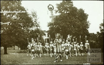 Bath Historical Pageant. Episode 1. Roman Soldiers July 1909