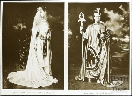 Bath Historical Pageant. Episode 3. King Edgar and Queen Elfrida July 1909