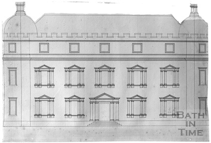 John Wood's drawings of an unknown building