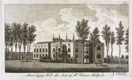 Strawberry Hill, the Seat of Mr. Horace Walpole
