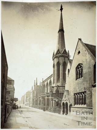 Holy Trinity Church, James Street West, Bath c.1890