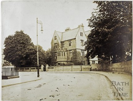 Corner of Vane Street and Edward Street, Bathwick, Bath c.1890