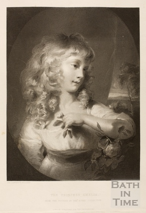 The Princess Amelia as a Child