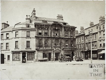 Bishop Butler's House, Kingsmead Square, Bath c.1890