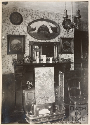 The room in which the Famous Swarry was held, The Beaufort Arms, Princes Street, Bath, c.1885
