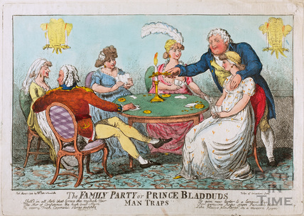 The Family Party or Prince Bladud's Man Traps 1803